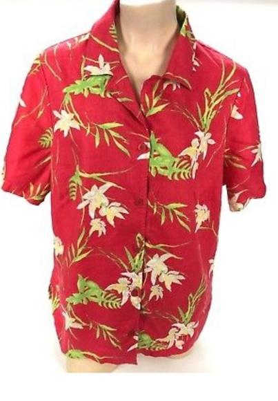 dd6a1abf JM Collection Tops | Womens Multicolor Hawaiian Shirt | Poshmark
